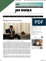 Mad Men_ El Ayer, El Hoy y El Abismo - Jot Down Cultural Magazine