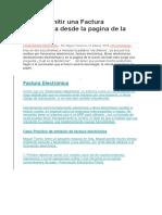 Cómo Emitir Una Factura Electrónica Desde La Pagina de La Sunat