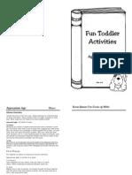Print Toddler Book