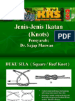 Jenis-Jenis Ikatan (Knots)