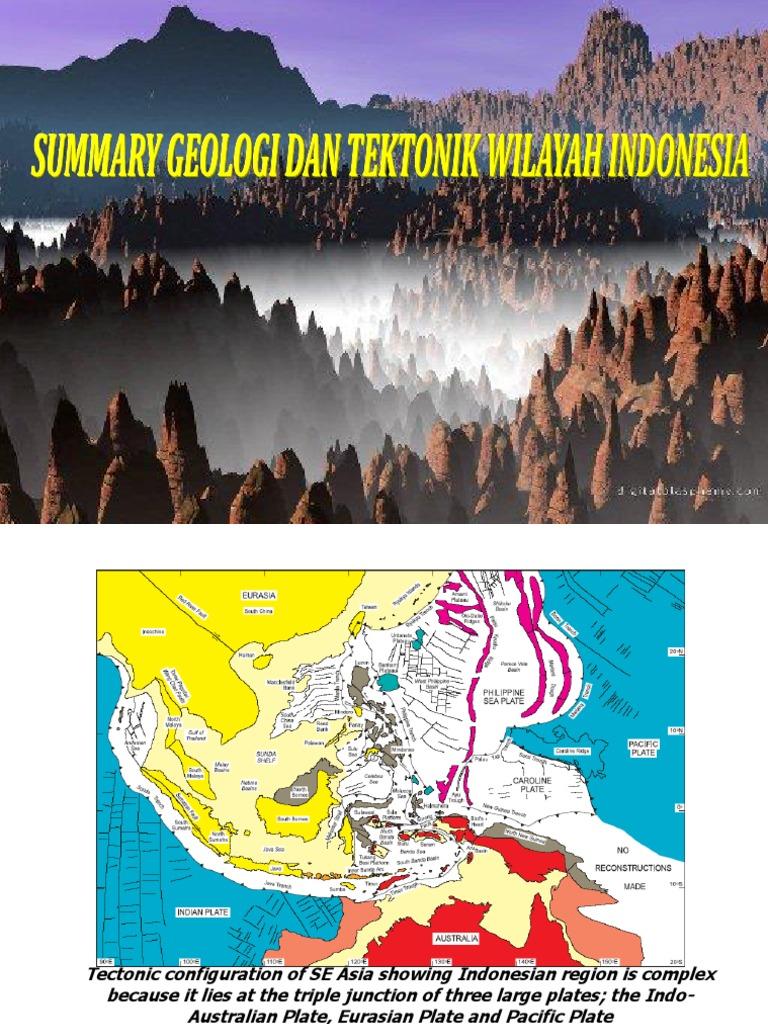 003 Summary Geology Indonesia Tectonics