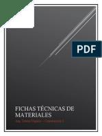 Fichas técnicas sobre revestimientos