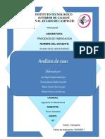 Analisis de Caso Eqp. 3 Die Casting(Fundicion a Presion)
