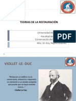 Clase 5 Viollet Le Duc y Ruskin