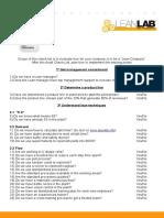 Lean Audit Checklist
