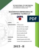 Diagnóstico Empresarial - Gloria S.A