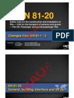 EN81-20 欧洲最新电梯标准解读