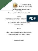 Tesis RABANAL GONZALES Diseño de Un Concreto Autocompactable Final (1)