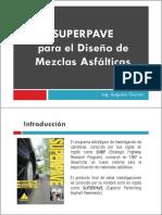 11.00 Diseño de Mezclas Asfalticas - Superpave