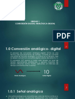 Conversión Digital - Analógica Digital