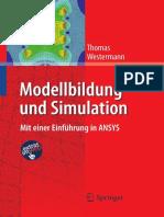 Modellbildung Und Simulation Mit Einer Einführung in ANSYS