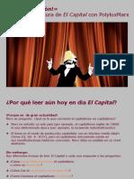 Lectura de El Capital