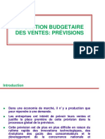 Budgetisation Des Ventes