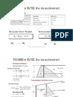 Poussée et butée, Mur de soutènement.pdf