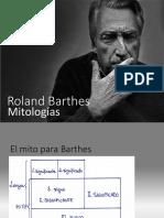 Mitologías, de Barthes