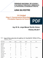 Fauna Silvestre Clase5 2017 II JMRCH