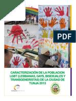 CARACTERIZACIÓN DE LA POBLACION LGBT TUNJA 2013.pdf