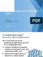 High Availability and Performance - PART 1