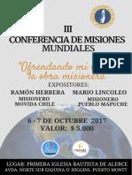 Misiones Mundiales