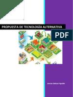 Propuesta de tecnología alternativa
