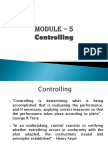 Perpectives of Management - Controlling