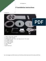 6 DOF Instructions