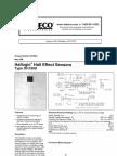Hall Effect Sensor OH180U