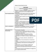 Formatos de Descripción de Puestos