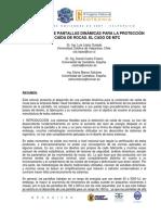 Desarrollo de Pantallas Dinamicas Para La Proteccion de Caida de Rocas . El Caso de MTC.