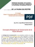 Manejo de La Fauna Silvestre Clase2 2017 II JMRCH