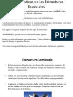 Características de Las Estructuras Especiales