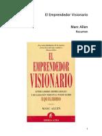 El Emprendedor Visionario Marc Allen