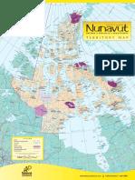 Map Nunavut