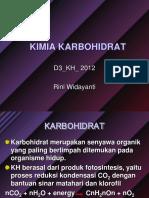 7 Kimia Karbohidrat D3KH 2012