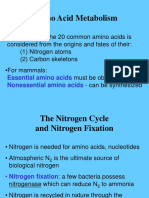 7_DKH 2011 - KULIAH - BIOKIMIA D3 - Metabolisme Asam Amino - F