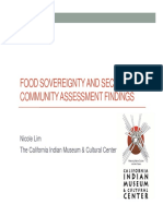Food Sovereignty and Security Findings Power Point