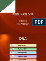 7 Replikasi DNA 2013