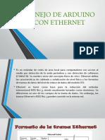 Manejo de Arduino Con Ethernet