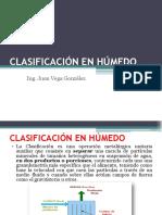 Clasificación en Húmedo