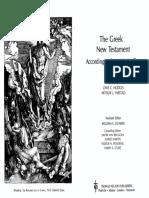 Novo Testamento - Texto Majoritário Hodges-Farstad 2Ed Em Ingles