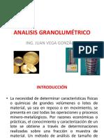 Clase 2 Análisis Granolumétrico
