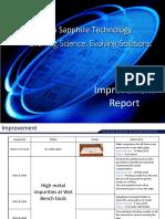 Improvement Report