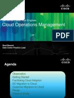 Brad Banerd Cloud Operations Management