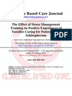 Stress Management Training for Schizophrenia
