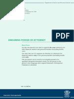 enduringpowerofattorneyshortformform2