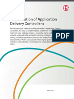 The Evolution of Application Delivery Controllers