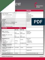 Basic Emergency Kit 2017