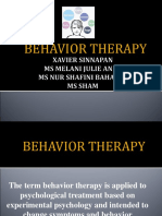 Behavior Therapy Slides