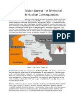 The Indo-Pakistan Nuclear Unrest