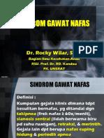 Sindroma Gawat Napas
